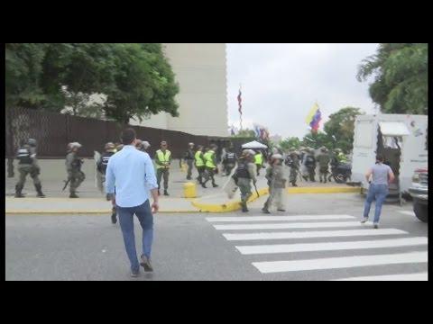 Venezuela protesta contra el golpe