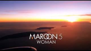Maroon 5 - Woman (Lyrics)