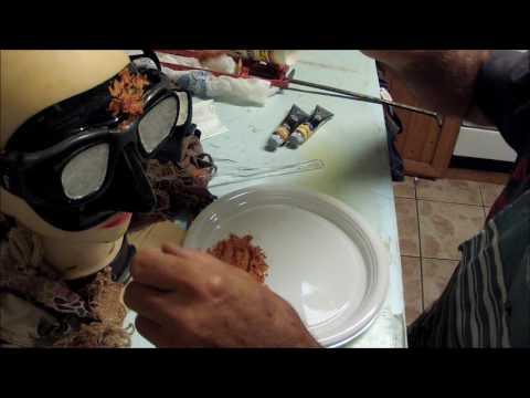 attrezzatura pesca sub mimetizzazione maschera in silicone