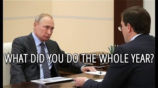Watch Putin Interviewing Governer of Nizhny Novgorod After One Year On His Duty