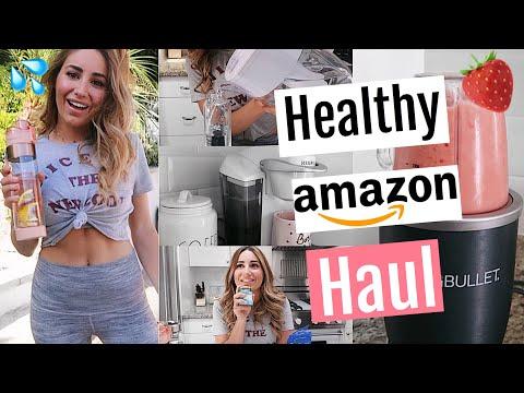 AMAZON MADE ME HEALTHY // HUGE AMAZON HAUL!