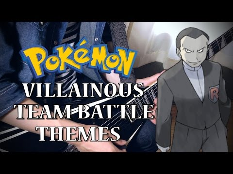 ポケモン悪の組織戦ギターメドレーPokemon Villainous Team Battle Guitar Medley