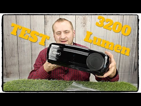 ❌Beamer, OCDAY 1080p FHD Video LCD LED Projektor 3200 Lumen TEST REVIEW DEUTSCH 2018