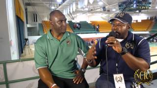 BLANCHE ELY BASKETBALL HEAD COACH MELVIN RANDALL