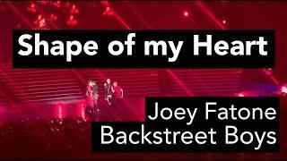 Backstreet Boys Las Vegas: Shape of My Heart (with Joey Fatone)