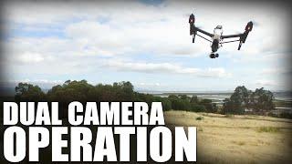 Flite Test | Dual Camera Operation - DJI Inspire 1