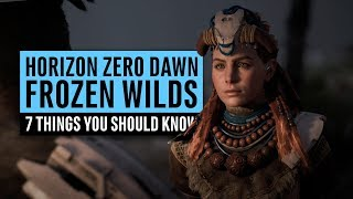 Horizon Zero Dawn DLC | 7 Things You Should Know About The Frozen Wilds