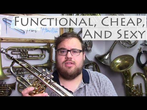 A Functional, Cheap, and SEXY trumpet for $120…