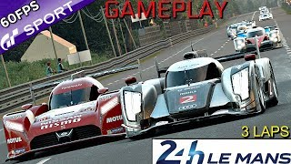 GT Sport | (1.19 Update) Le Mans LMP1 (Gr.1) Gameplay | Hard Difficulty