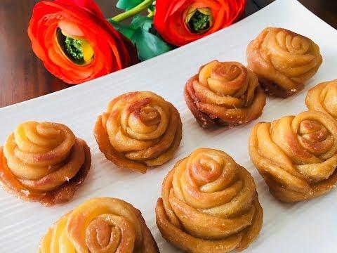 दिवाली  के अवसर पर बनायें ख़ास मिठाई, गुलाब मीठा/Golap pitha/Poonam's Kitchen