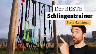 Schlingentrainer im TEST | 5 Günstige Modelle vs. TRX
