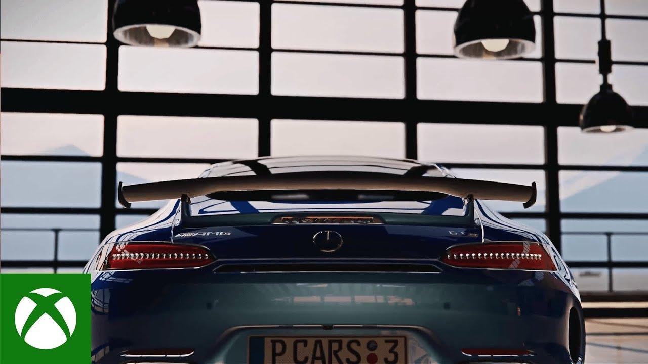 Анонсирующий трейлер игры Project CARS 3