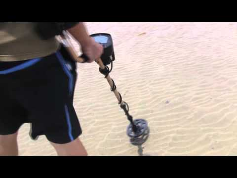 Fisher F5 as a Beach Metal Detector