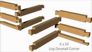 Log Dovetail Corner