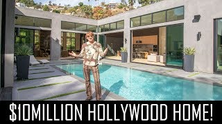 $10MILLION West Hollywood mansion with salt water pool!