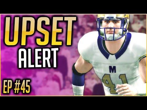UPSET ALERT + BEST RANK IN SCHOOL HISTORY! NCAA Football 16 Dynasty   S3