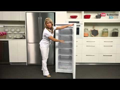 175L Haier Upright Freezer HFZ 175HA reviewed by product expert – Appliances Online