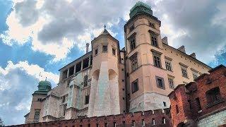 preview picture of video 'Kraków: zamek królewski na Wawelu (Cracow: Wawel Royal Castle on Wawel Hill), Poland (videoturysta)'