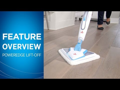 Poweredge Lift Off 174 Steam Mop 20781 Bissell Steam Clean