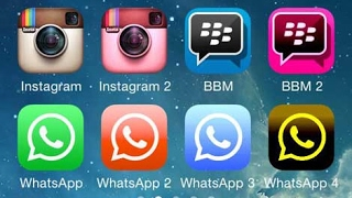 How to install 2 same apps in iphone