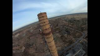 FPV Freestyle at an abandoned military town, abandoned Berlin