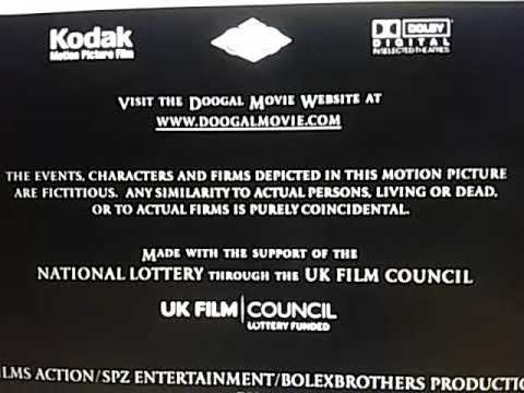 UK Film Council/Castle Rock Entertainment/Warner Bros Pictures/Rated PG MPAA Blue Screen (2006)