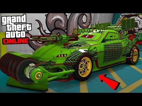 "THE BEST DEMOLITION RACE CAR ""GTA ARENA WAR DLC UPDATE!"" - GTA Online"