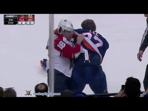 Anders Lee vs. Reilly Smith