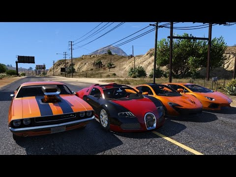 Grand Theft Auto V Ultimate Vehicle Pack Teaser