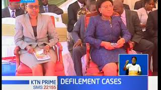 CJ David Maraga is raising concern over the high number of defilement cases