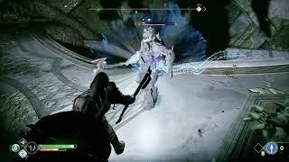 God of War Get Light Crystal for Rune Spinner Room