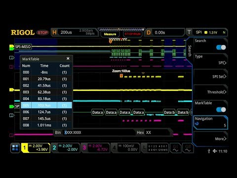 Video of Performing Protocol Analysis with a DS7000 Series