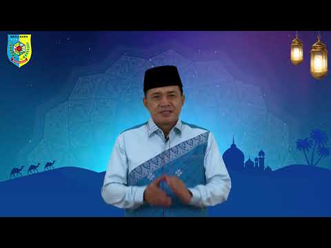 Bupati Zahir Sampaikan Ucapan Selamat Menunaikan Ibadah Puasa Ramadhan 1442 H