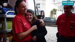 Valor Local TV   6 Choques de DAE Salvam Mulher