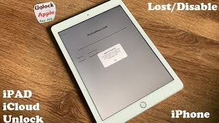 Factory Reset iCloud Locked iPad And Remove iCloud Account iPhone iOS 6,7,8,9,10,11,12