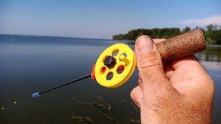 Рыбалка летом на зимнюю удочку