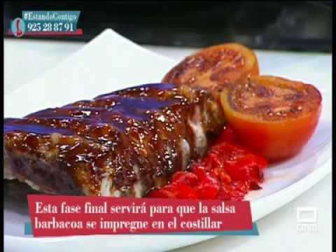 Costillar Ibérico a baja temperatura con Salsa Barbacoa por Javier Donaire