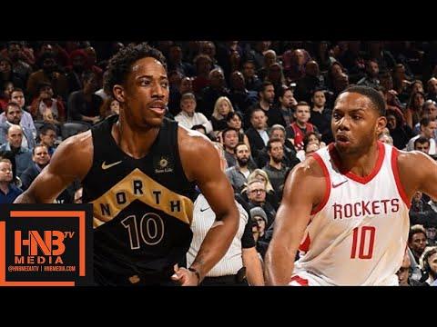Toronto Raptors vs Houston Rockets Full Game Highlights / March 9 / 2017-18 NBA Season
