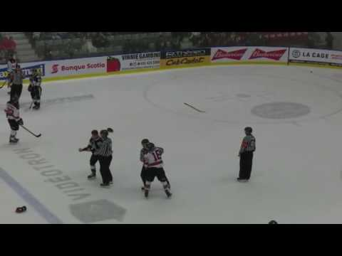 Mikael Robidoux vs Anthony Poulin