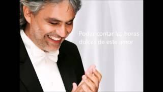 Andrea Bocelli - Historia De Amor with lyrics