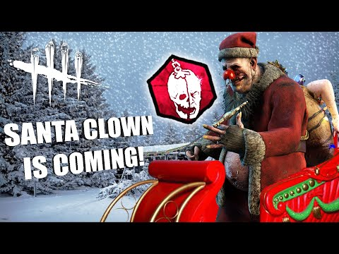 黎明死線 小丑造型的聖誕老人