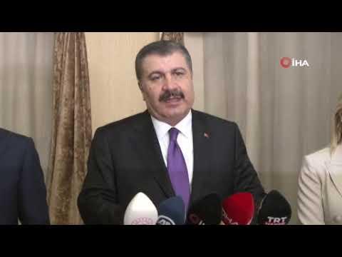 Sağlık Bakanı Antalya'da