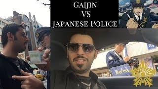 Gaijin VS Police in Japan