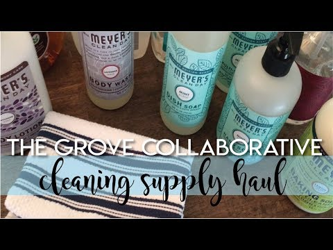 New Products From The Grove Collaborative | Cleaning Supply Haul | The Hebert House Mp3