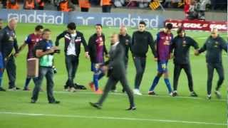 preview picture of video 'Homenaje a Guardiola - Último partido de Pep Guardiola en el Camp Nou como entrenador'