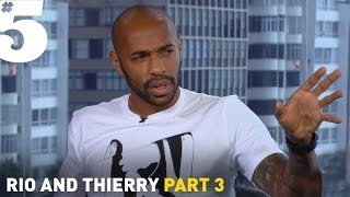 Henry: 'I respect Ronaldo - but Messi is the best in the world'   Rio & Thierry Part 3