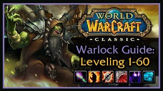 Classic WoW: Warlock Leveling Guide 2.0 (Talents, Wand Progression, Rotation, Macros, Tips & Tricks)
