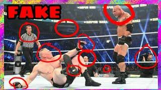 WWE IS FAKE  || REAL PROOF (2018) || WWE TOP 10