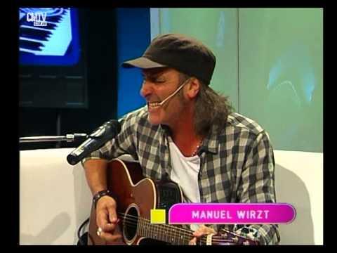 Manuel Wirzt video Morir de amor - Estudio CM - Mayo 2015