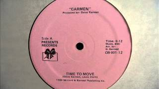 Carmen - Time To Move (1984] HQ Audio